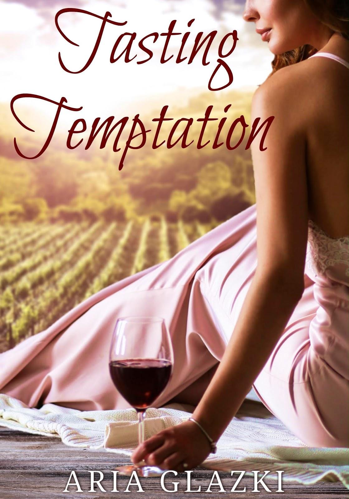 Book cover of Tasting Temptation by Aria Glazki