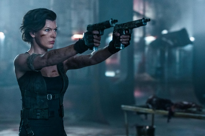Resident Evil - The Final Chapter mit Mila Jovovich
