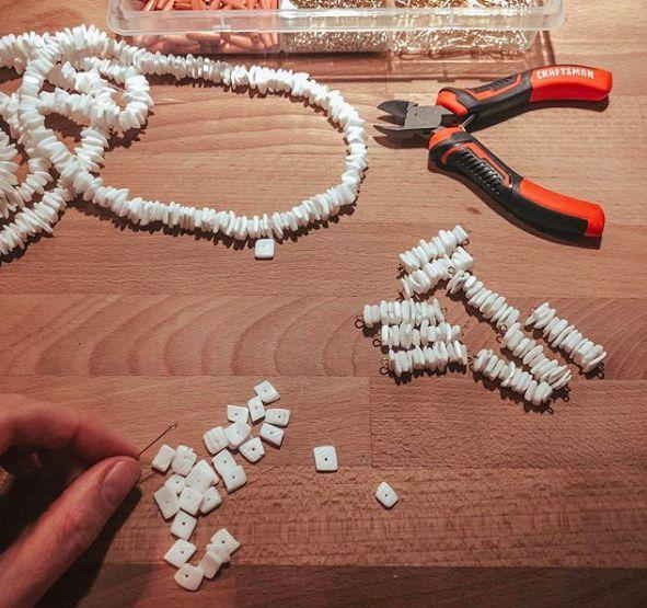 Bracelets London de la Collection Nacre Hokee Paris