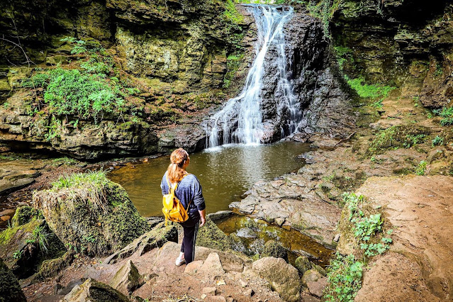 Hareshaw Linn, Northumberland 40 coast and country walks, mandy charlton, photographer, writer, blogger