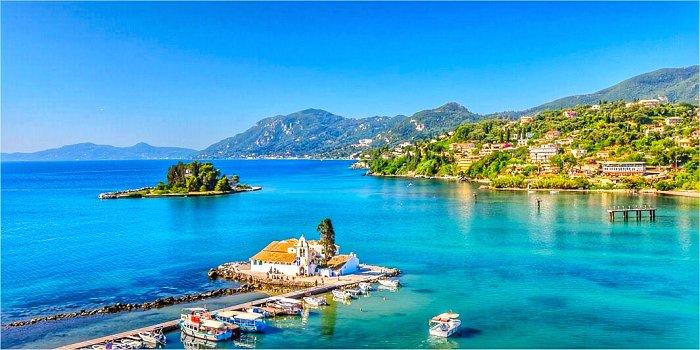 Isola di Corfù, Grecia