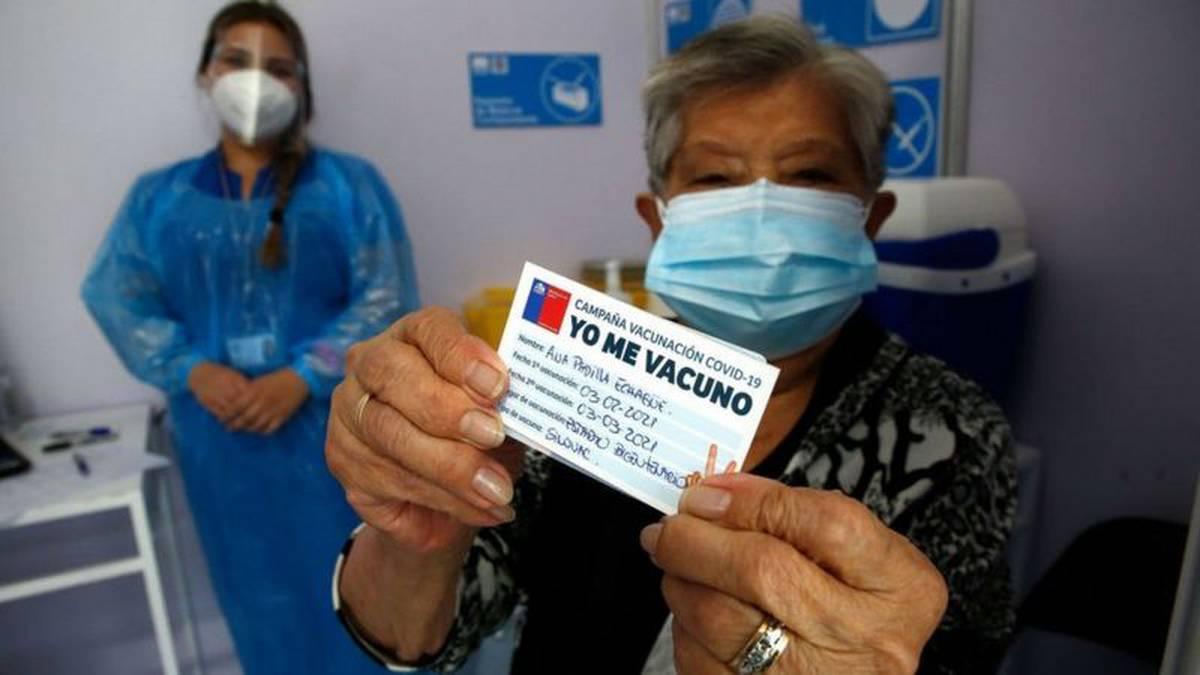 Chile ya vacunó contra el coronavirus a una cuarta parte de su población