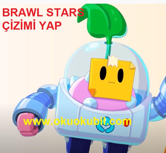Brawl Stars vOBil Boyama Sayfası ile Süper Brawl Stars Çizimi Yap 2020