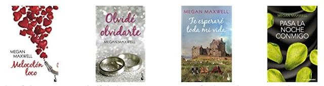 Algunas novelas de Megan Maxwell