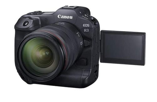 Canon EOS R3 focuses by following your eyes