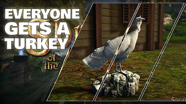 Everyone gets a Turkey in November • Shroud of the Avatar News
