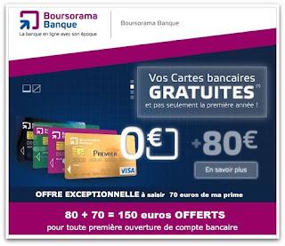 L'offre de parrainage Boursorama: 150 € offerts