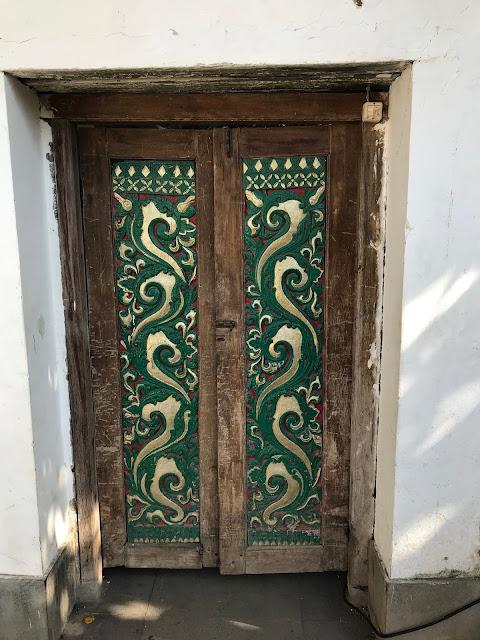 Inside the Kanoman Place, Cirebon, West Java, Indonesia