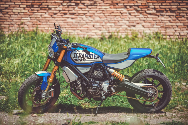 Ducati Scrambler By CC Racing Garage Hell Kustom
