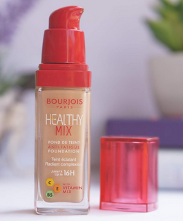 Bourjois healthy mix foundation makeup skincare