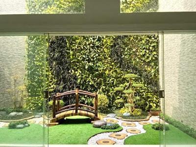 Taman Vertikal Living Wall