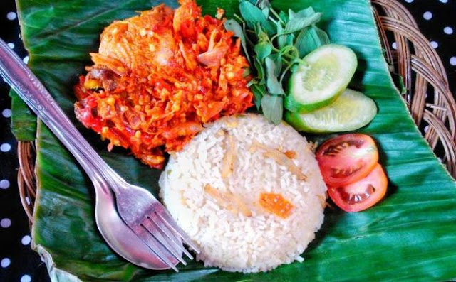 resep ayam penyet sambal bawang