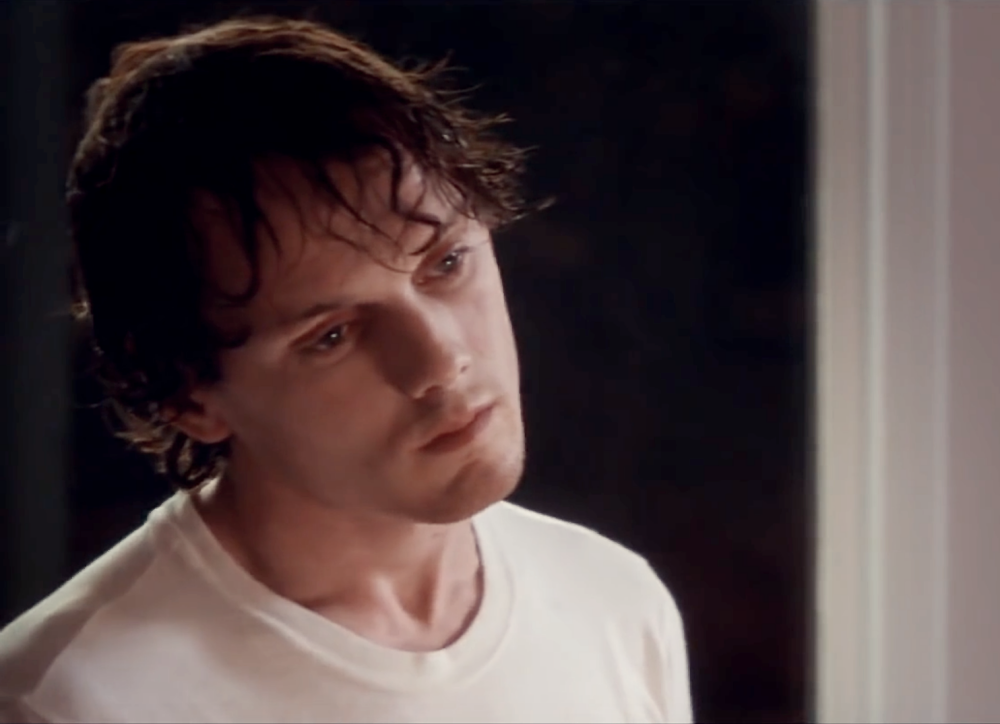 """Wir gehören nicht hierher"" - ""We don't belong here"" / Screen Capture Anton Yelchin"