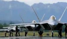US F-22 fires flares to 'warn' Russian jets in Syria