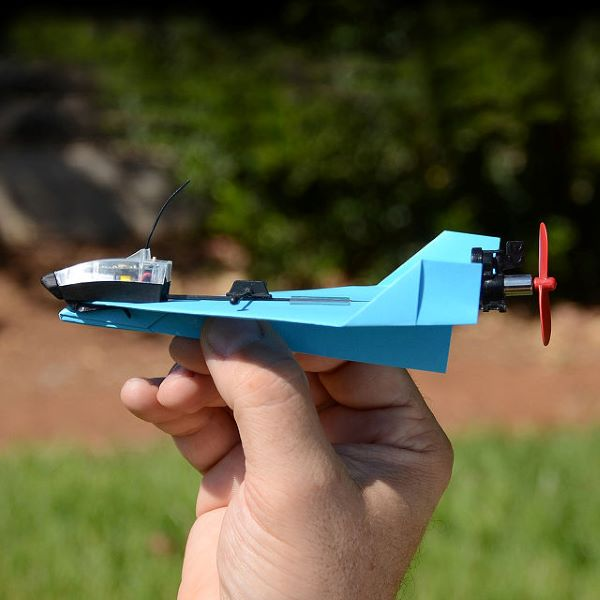 remote controlled paper airplane