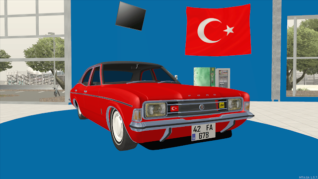 MTA SA Ford Cortina Mk3 Araba Scripti