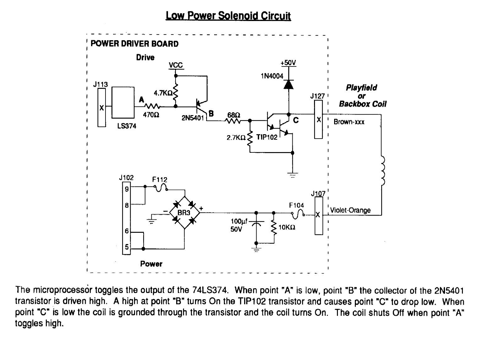 solenoid power wiring ezgo diagram golf cart pinball chameleon 39s guide to diy machine