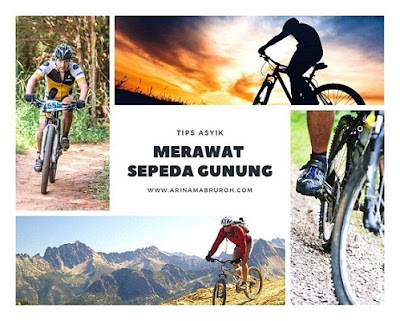 merawat sepeda gunung