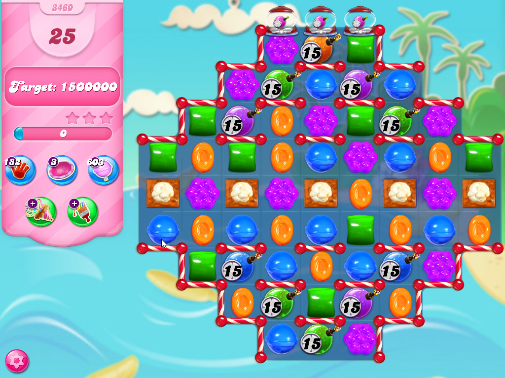 Candy Crush Saga level 3460
