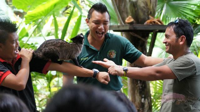Lok Kawi Wildlife Park Kota Kinabalu