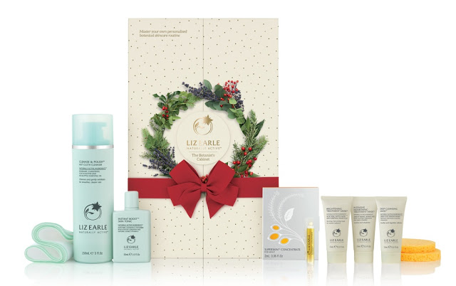 Liz Earle Botanist Cabinet advent calendar 2016