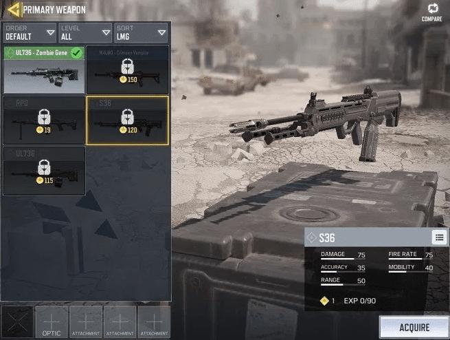 Senjata Terbaik COD Mobile dengan Damage Tersakit