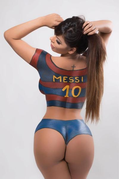 bum Messi blocks Miss BumBum Brazil on IG for sending him pictures of her butt