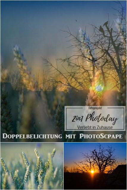 2in1 Photoday -Fotografie Doppelbelichtung