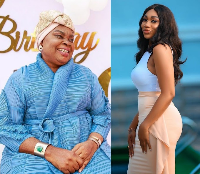 Actress Ebube loses her mum