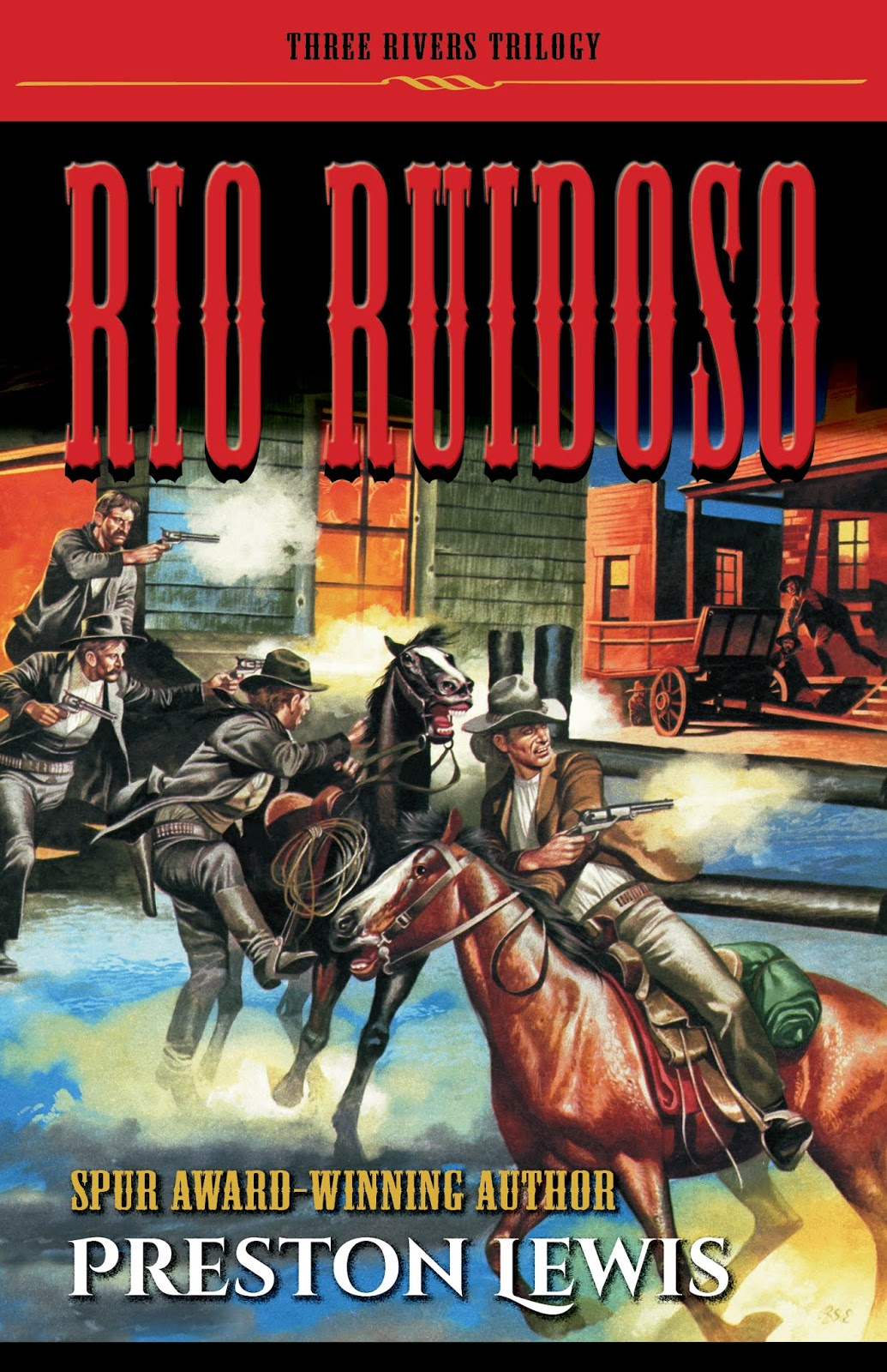 Rio Ruidoso book cover