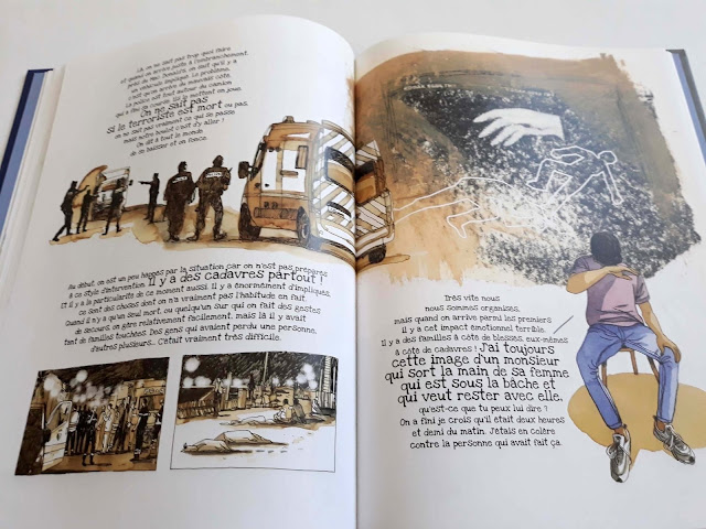 Promenade de la mémoire - 14 Juillet aux editions Des ronds dans l'O page 60-61