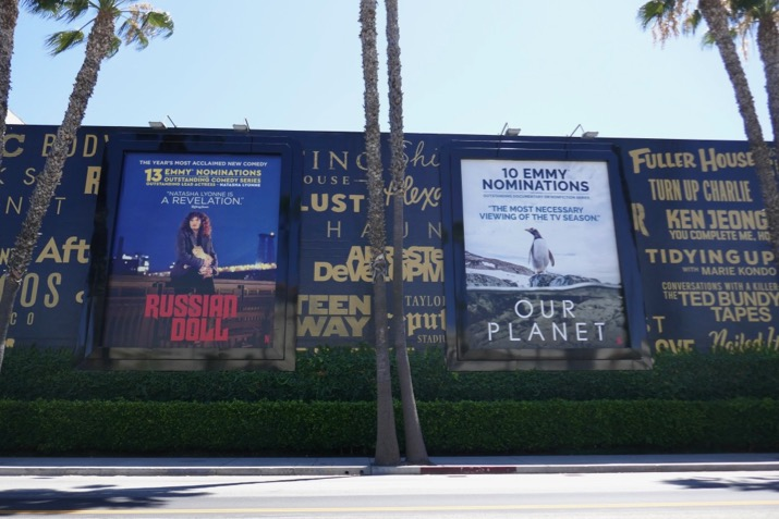 Russian Doll Our Planet Netflix Emmy billboards