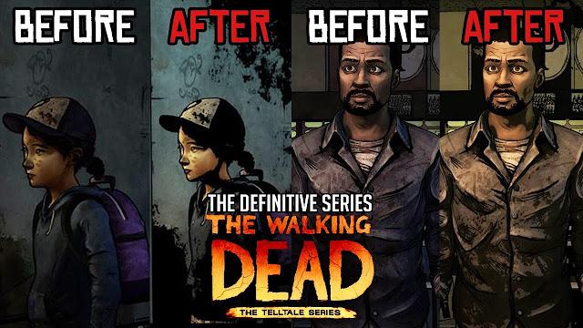 TWD definitive series mejoras graficas