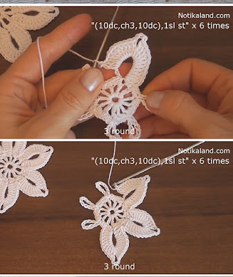 EASY CROCHET LACE FLOWER