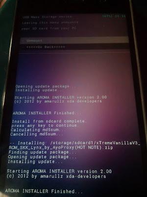 Techvillaz Philz Touch Recovery For Infinix Hot Note x551