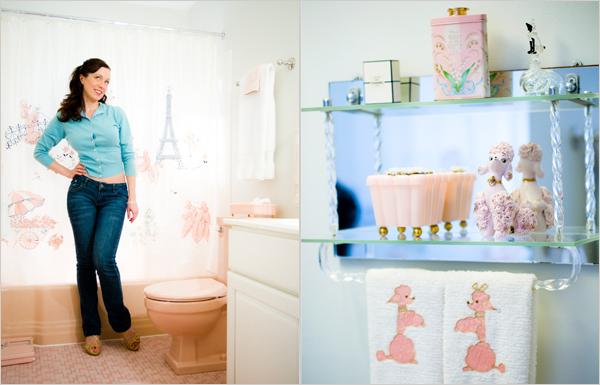 Living Livelier It S Baaaack The Pepto Pink Bathroom