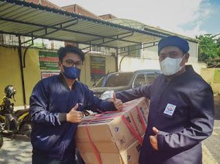 Alumni Man Model 06 Makassar Salurkan Bantuan di Pesantren Tahfizh Jami'ul Qurra'