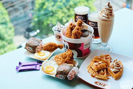 A&W RESTORAN INDONESIA - BFF Rooty Barrel & Peanut Butter Almond Magic - FOODIRECTORY - Indonesian Food Blogger Based in Jakarta