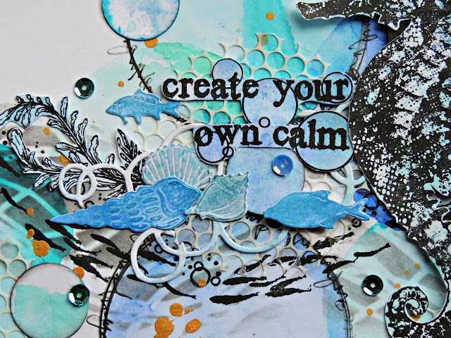 create your own calm - visible image stamps