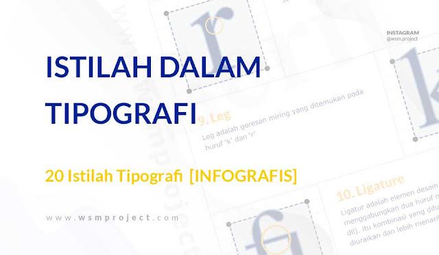 istilah istilah dalam dunia tipografi