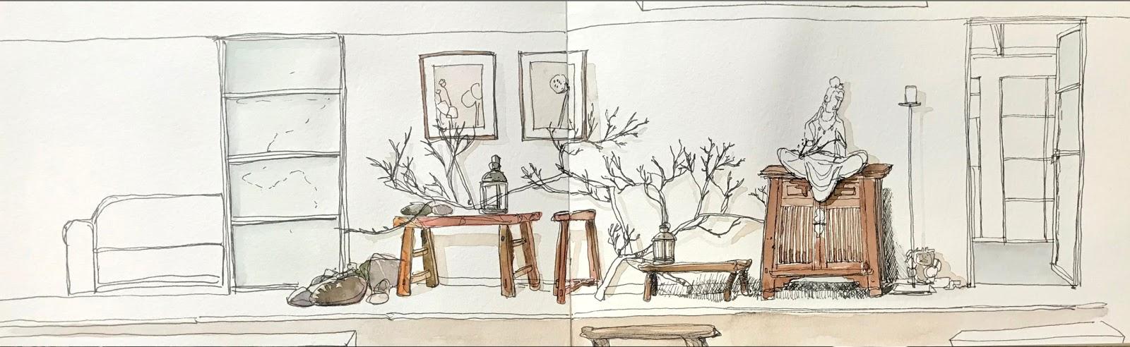 Farm House | Urban Sketchers