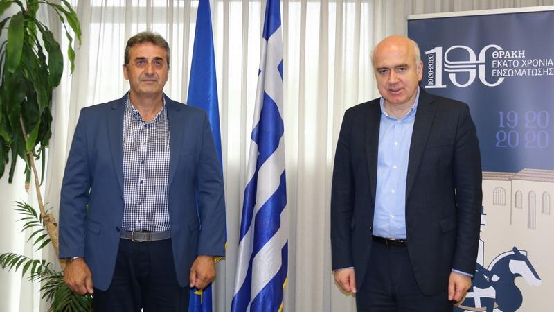 Ο Πρόδρομος Φωτακίδης ορίστηκε στη νεοσύστατη θέση του Περιφερειακού Συντονιστή Πολιτικής Προστασίας ΑΜ-Θ