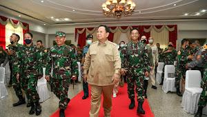 Kasad Dampingi Menhan RI Kunjungan Kerja ke Akademi Militer Magelang