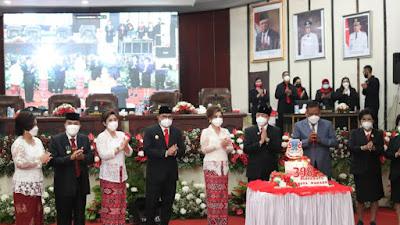 HUT ke-398 Kota Manado, Gubernur Olly Ajak Semua Bekerjasama Untuk Tetap Survive