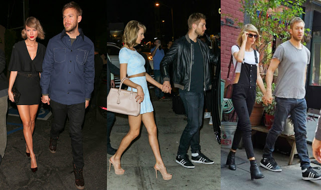 Taylor Swift e Calvin Harrys