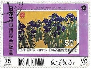 Selo Pintura The Irises