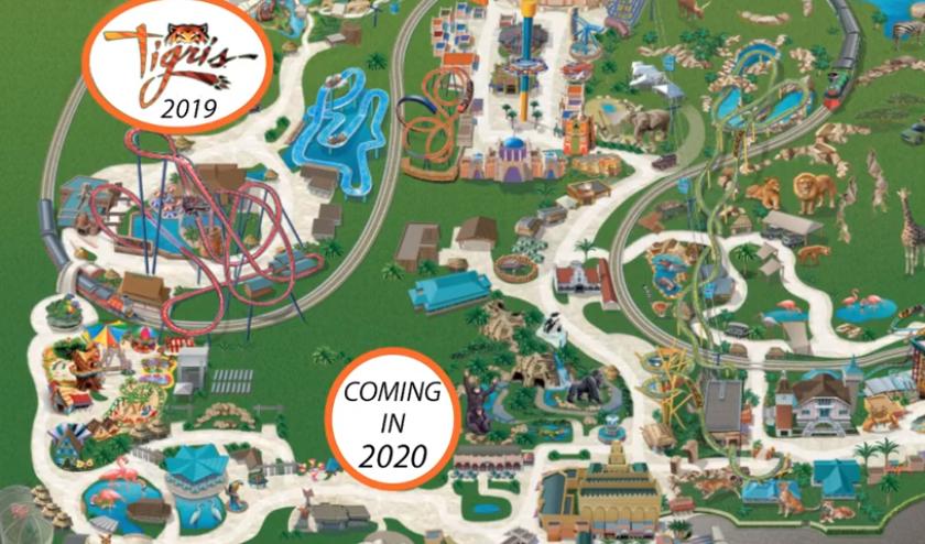 Busch Gardens Tampa Crowd Calendar 2022.Busch Gardens Tampa Park Guide Amusementinsider The Front Page Of Theme Parks