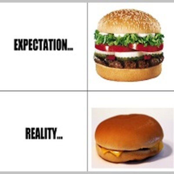 "My Thoughts About ""Expectation vs. Reality"""