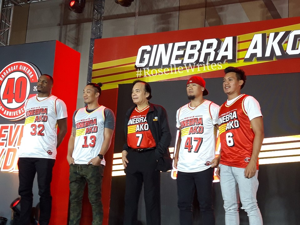 f9cfba617 Barangay Ginebra 40th Anniversary Jersey Collection
