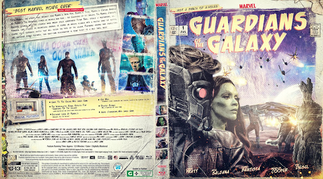 Guardians Of The Galaxy Bluray Cover